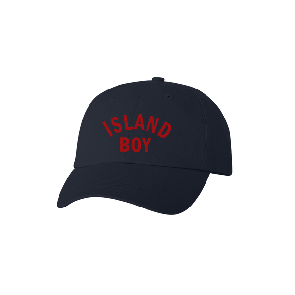 Island Boy Dad Hat - Navy