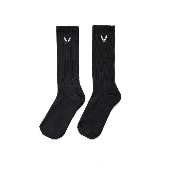 Feather Logo Socks
