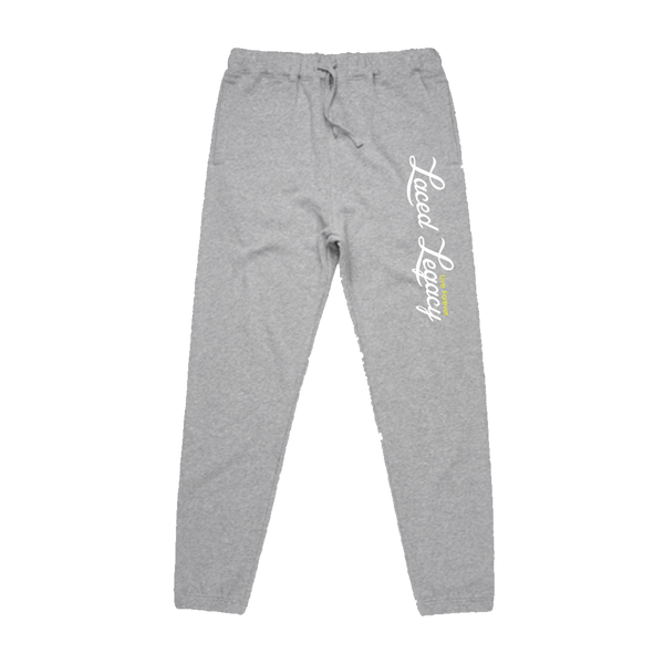 Script Logo Sweat Pants - Athletic Grey