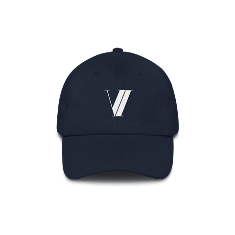 VI Logo Dad Hat - Navy