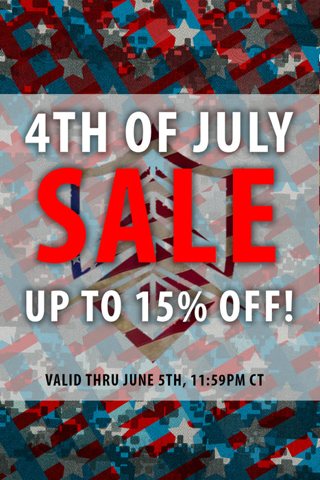 BACKWOOD SPORTS 4TH OF JULY SALE!