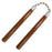 NATURAL HARDWOOD NUNCHUCKS 1001 C