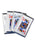 Flush Kings Playing Card Throwers Set of 5 with Pouch