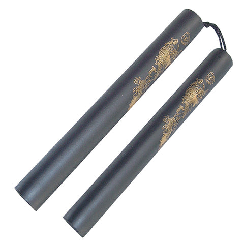 NUNCHUCKS FOAM PADDED DRAGON DESIGN 801