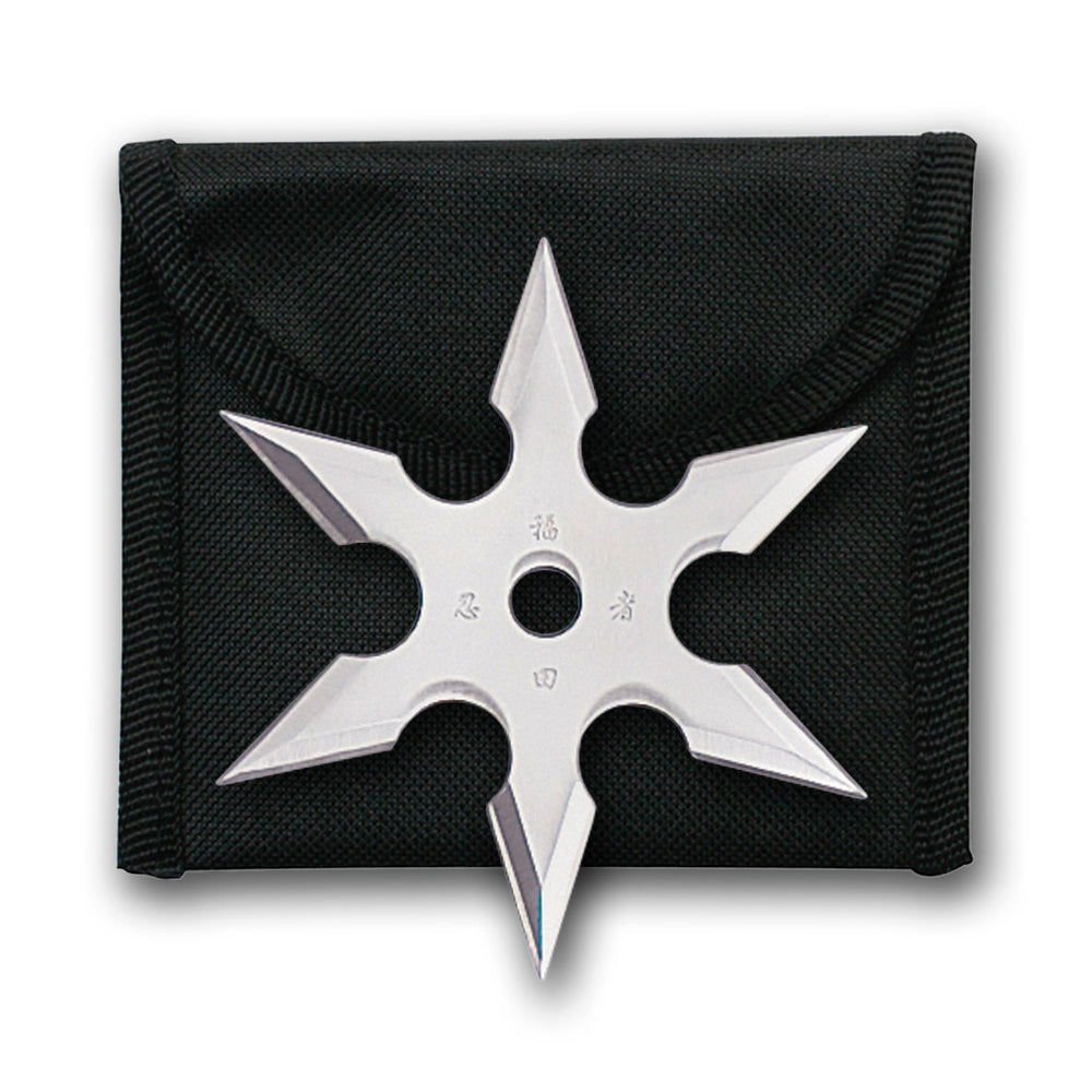 "2 3/4"" Ninja Star with Pouch 90-19"