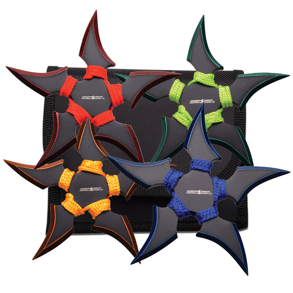 PERFECT POINT THROWING STAR SET 90-45-4