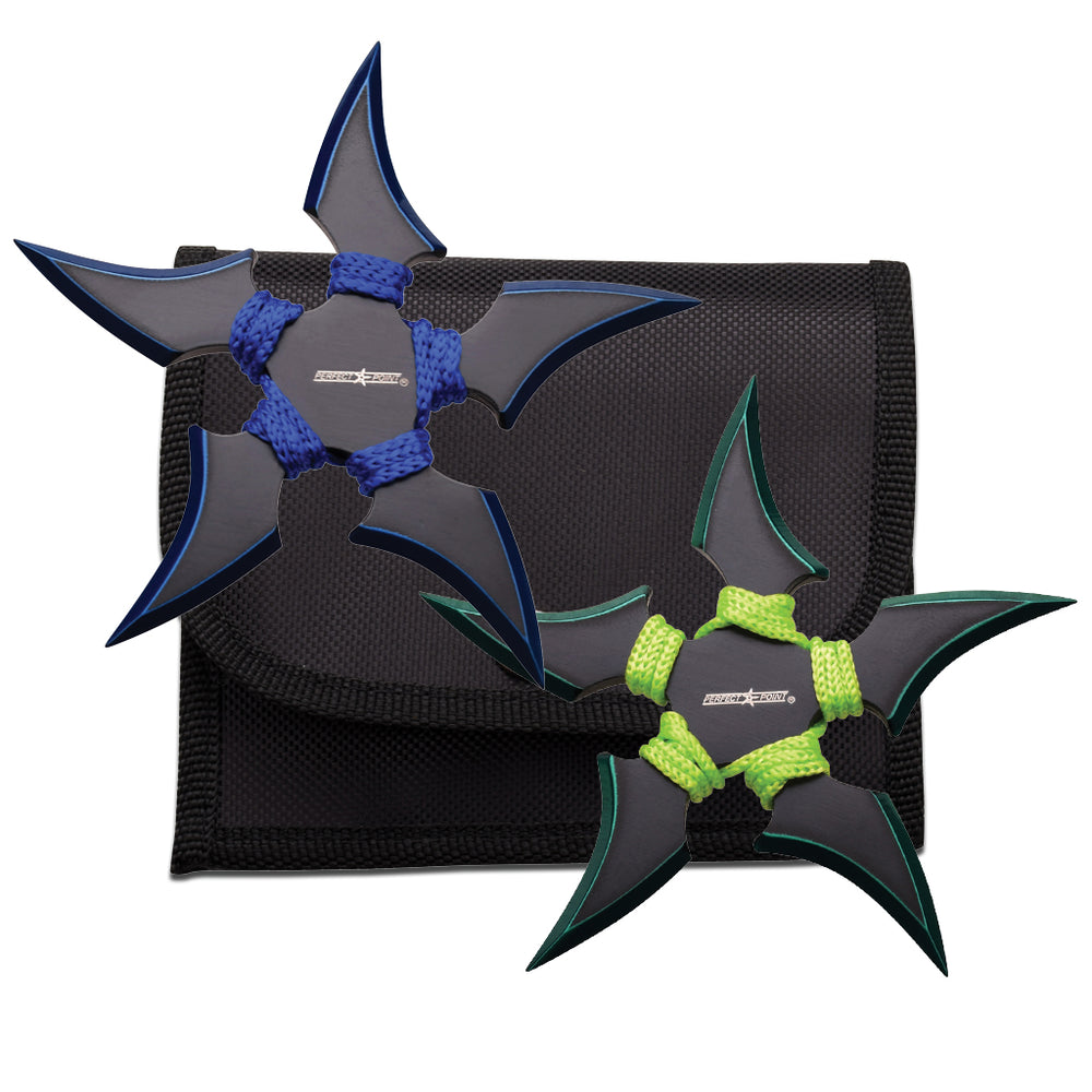 PERFECT POINT THROWING STAR SET 90-45BG-2