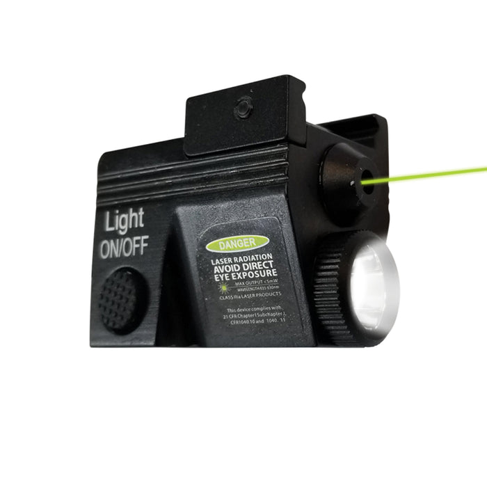 XTS-CGLL2 MINI SUB COMPACT GREEN LASER & FLASHLIGHT COMBO