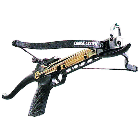 80 lb. Self-cocking Pistol Crossbow