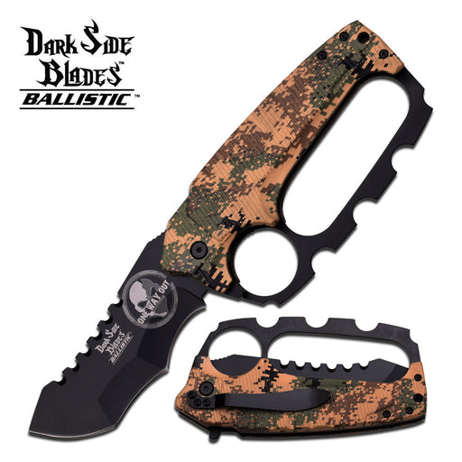 DARK SIDE BLADES DS-A012DM SPRING ASSISTED KNIFE <p style={