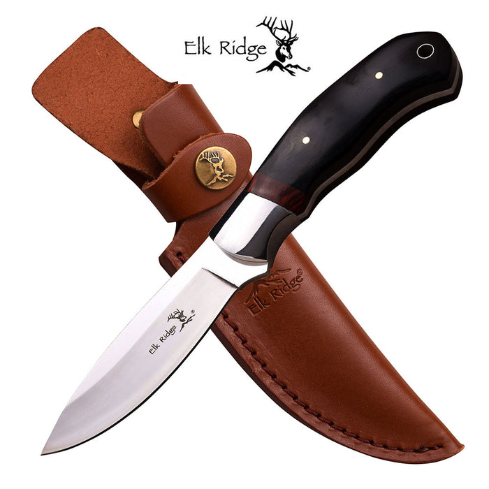 ELK RIDGE ER-565BW FIXED BLADE KNIFE 8.25'' OVERALL