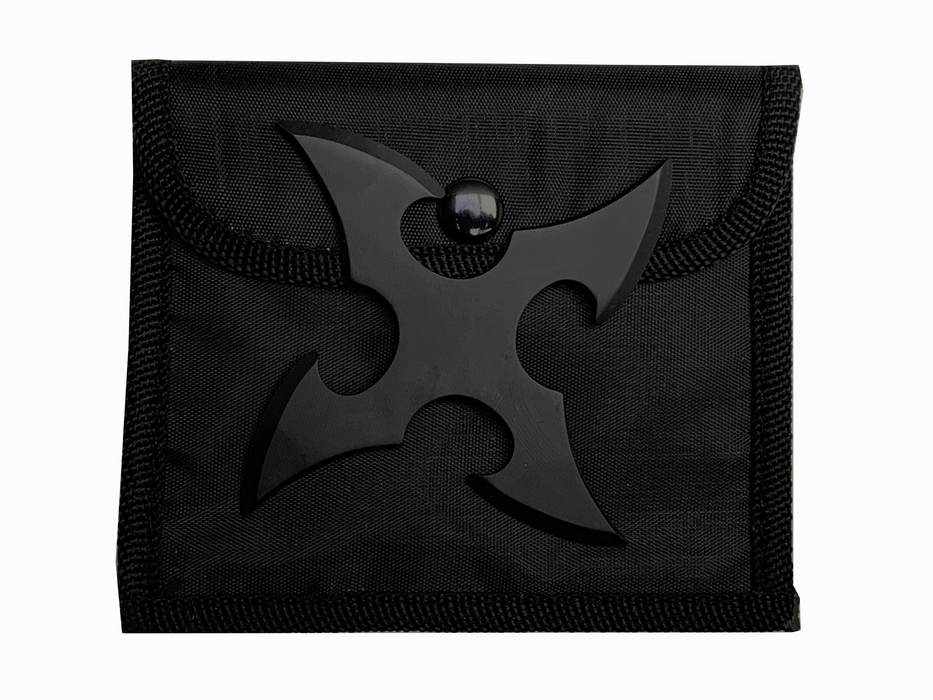 "FOUR POINT THROWING STAR 4"" WITH POUCH 90-24"