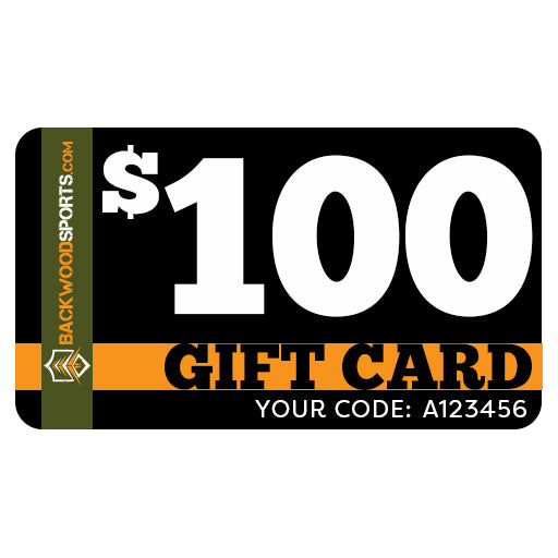 Backwoodsports.com e-Gift Card - $100