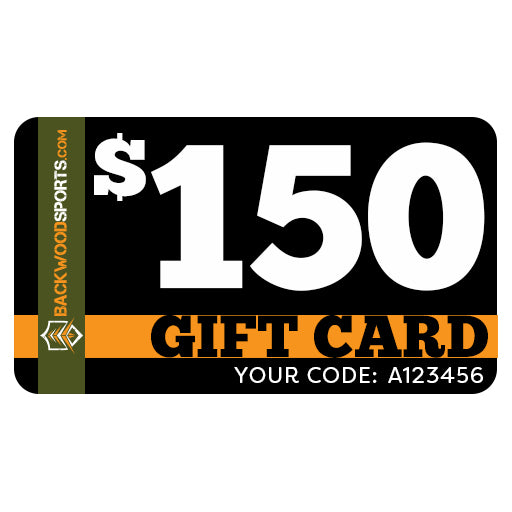 Backwoodsports.com e-Gift Card - $150