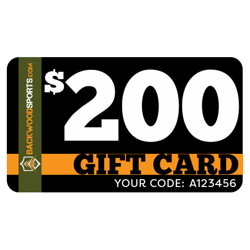 Backwoodsports.com e-Gift Card - $200