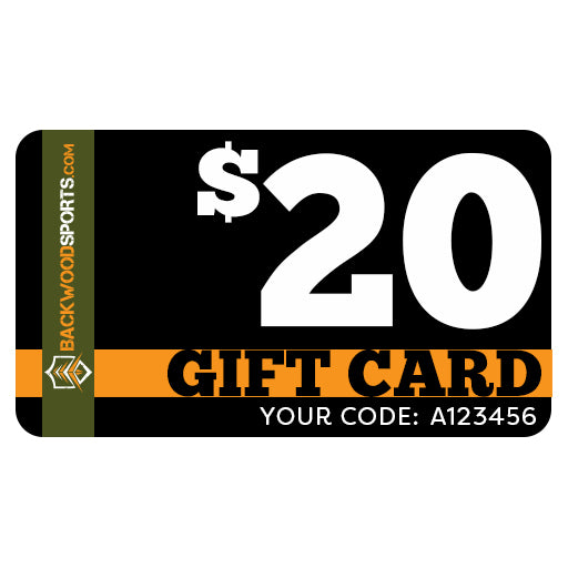 Backwoodsports.com e-Gift Card - $20