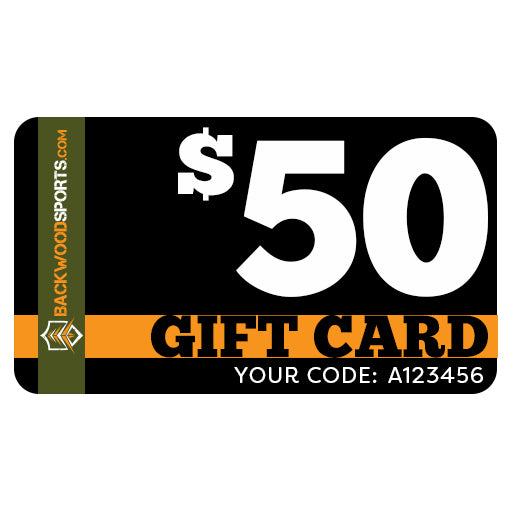 Backwoodsports.com e-Gift Card - $50