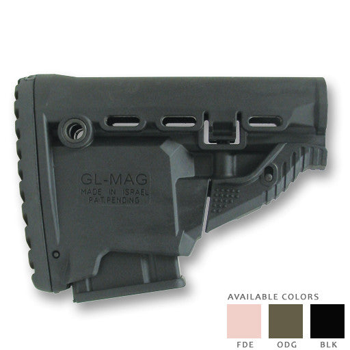 GL-MAG SURVIVAL BUTT STOCK WITH MAGAZINE CARRIER