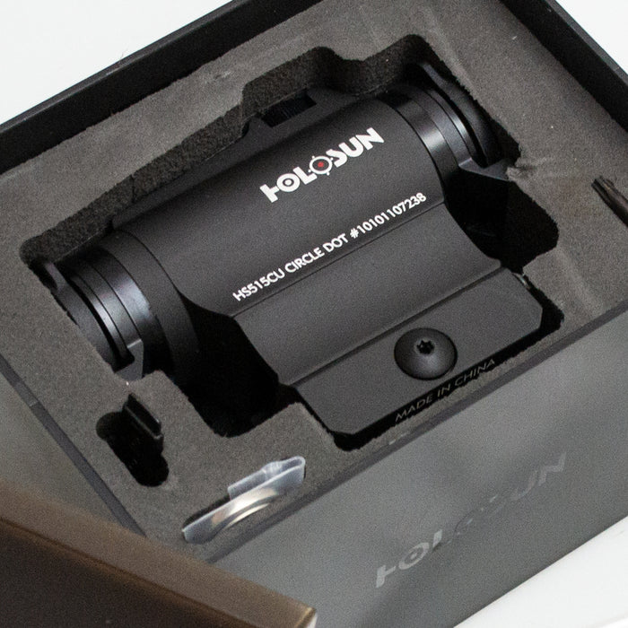 Holosun HS515CU Red Dot Sight with Solar Panel