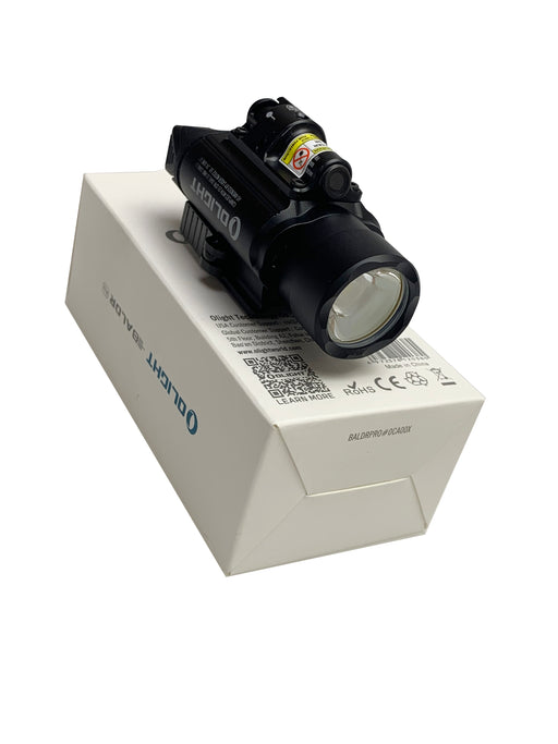 The O Light!  The 1350 Lumen laser flashlight combo