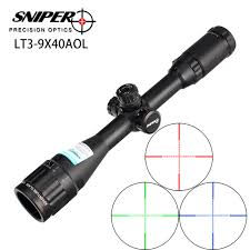 SNIPER LT3-9X40AOL ILLUMINATED SCOPE