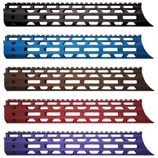 "XTS MLK M-LOK 12"" RAIL SYSTEM - ANODIZED COLORS"