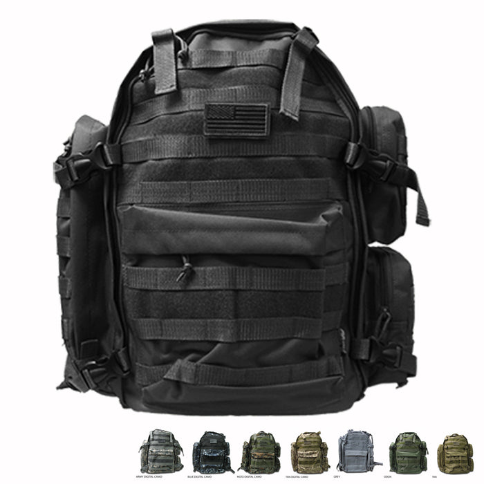 NEXPAK TACTICAL BACKPACK ML007 (8 Color Options)