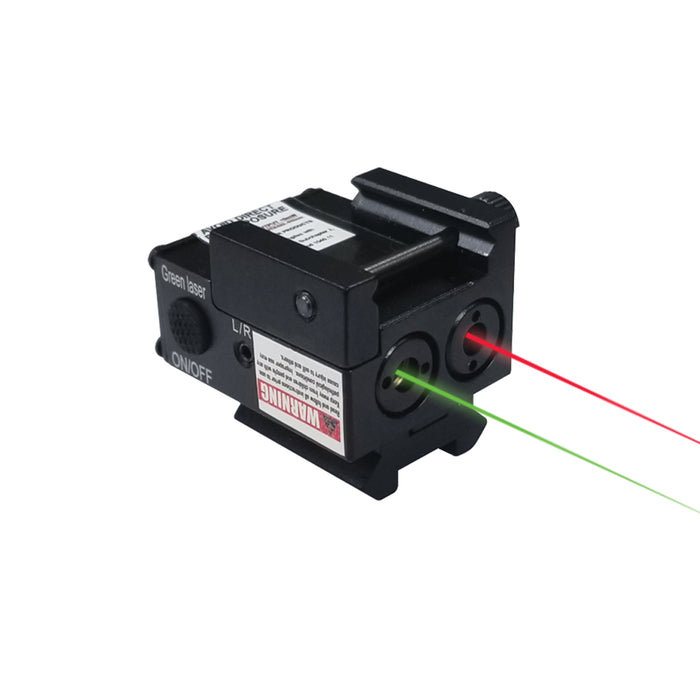 XTS-ML2 SUB COMPACT MINI RED & GREEN LASER
