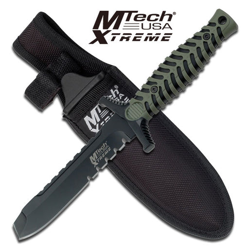"MTech USA XTREME MX-8089BGT Fixed Blade Knife 7.5"" OVERALL"