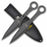 "Perfect Point Professional 9"" Throwing Knife Set of 3 PF003SW"