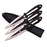 PERFECT POINT PP-101-3B THROWING KNIFE SET