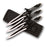 "Set of 3 - Two Tone 8"" Throwing Knives PP 021-3M"
