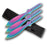 "Set of 3 - 9"" Throwing Knives PP 114-3RB"