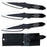 "8"" THROWING KNIVES SET OF 3 RXTK080-803B"