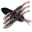 Set of 3 - Two Tone Laced Cord Throwing Knives TK 010RD