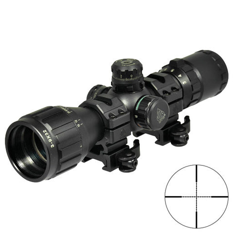 UTG 3-9X32 DUAL ILLUMINATION SCOPE