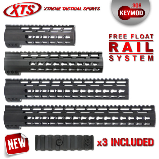 XTS .308 KEYMOD FREE FLOAT RAIL SYSTEM