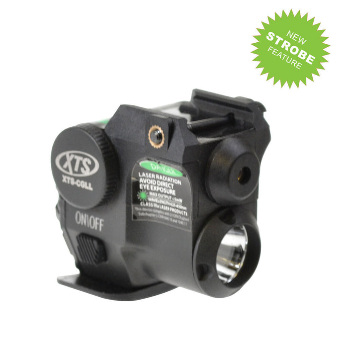 XTS CGLL SUB COMPACT  GREEN LASER AND FLASHLIGHT COMBO