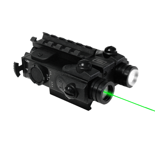 Tactical Rifle Flashlight/Green Laser
