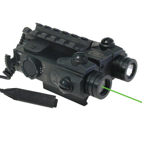 XTS XLG TACTICAL RIFLE LASER AND FLASHLIGHT COMBO