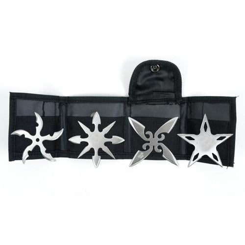 "2 1/2"" Throwing Stars Set of 4 YK 4S2"