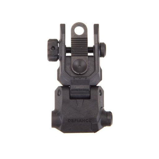 DEFIANCE AR-15 POLYMER REAR FLIP-UP SIGHT - BLACK