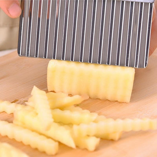 Potato Wave Knife Chopper