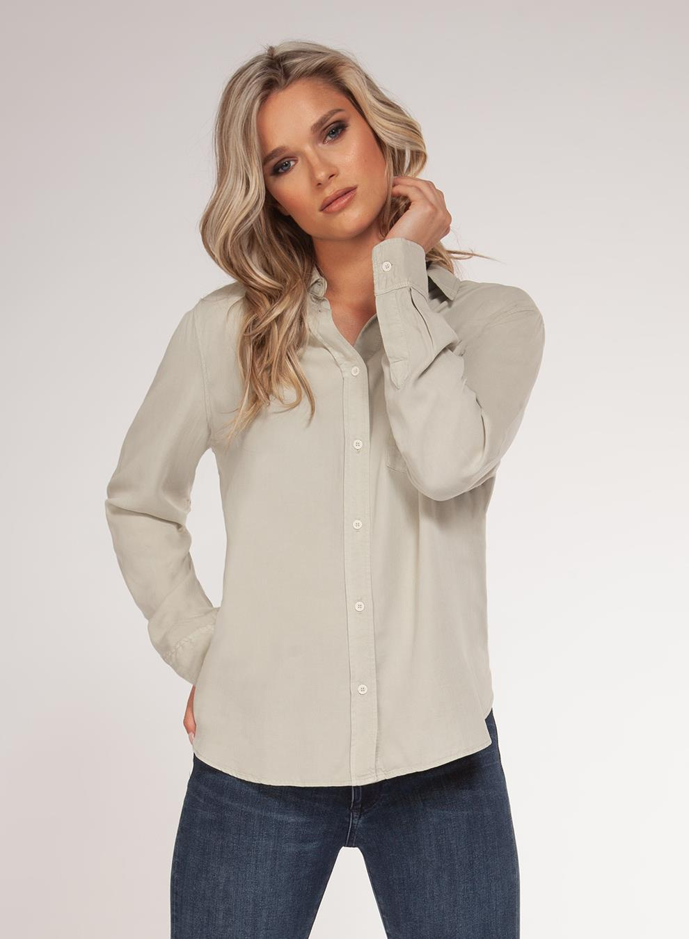 Dex Button Blouse