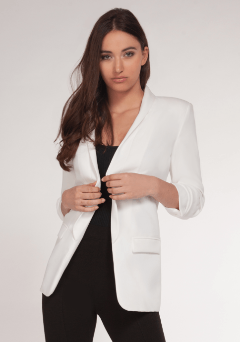 DEX WHITE BLAZER 1529009