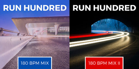 Run Hundred 180 BPM Mixes I & II (Digital Downloads)
