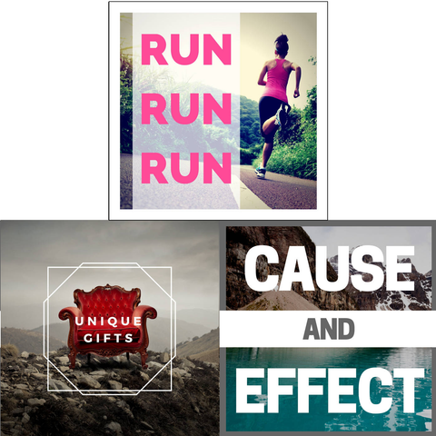 Run Run Run / Unique Gifts / Cause & Effect (3 Album Download Set)