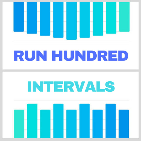 Run Hundred Intervals / 10 Mix Set (Digital Download)