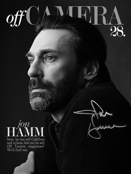 Off Camera Special Edition Signed Issue 28 Jon Hamm