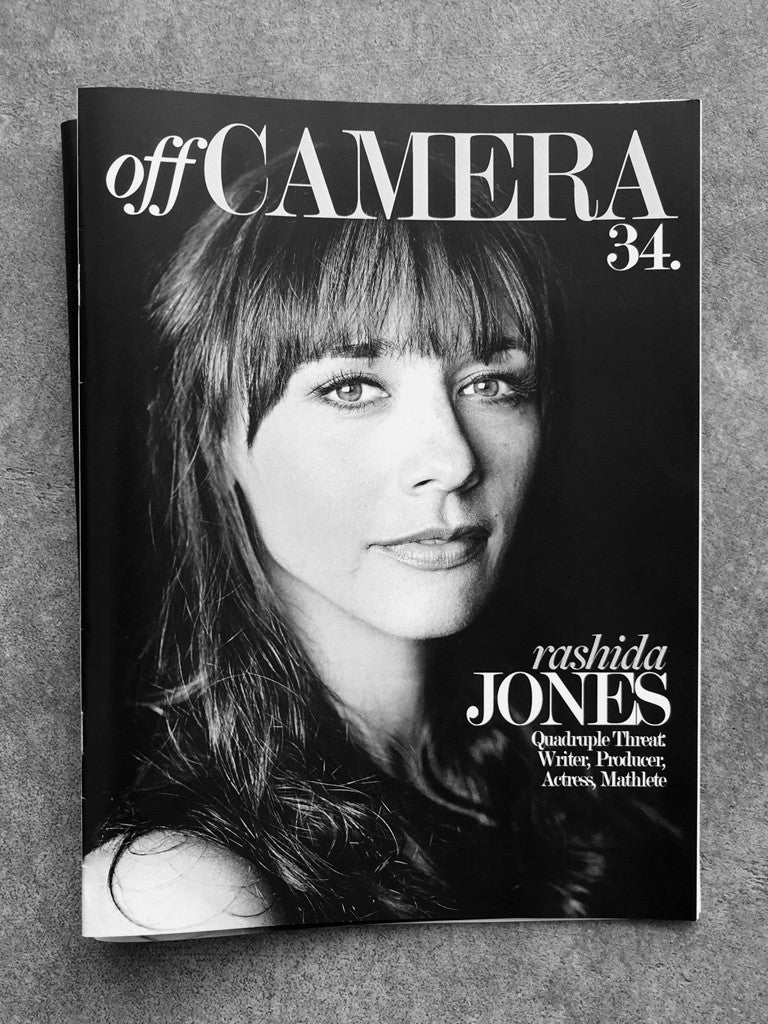 Off Camera Issue 34 Rashida Jones